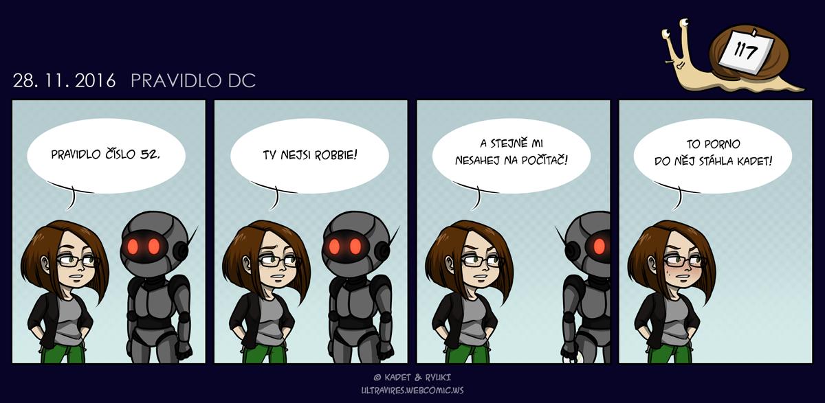 Komiks 117: Pravidlo DC