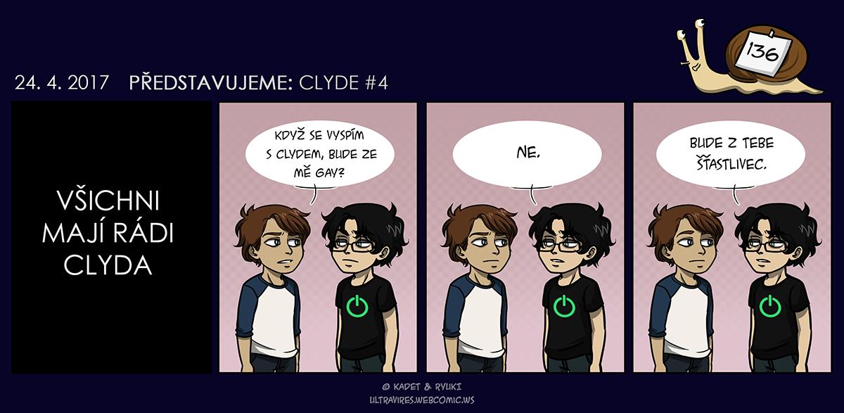 Komiks 136: Představujeme: Clyde #4