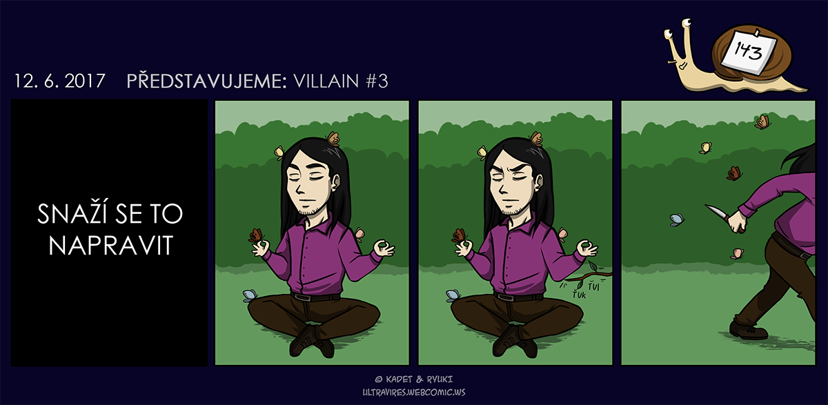 Komiks 143: Představujeme: Villain #3